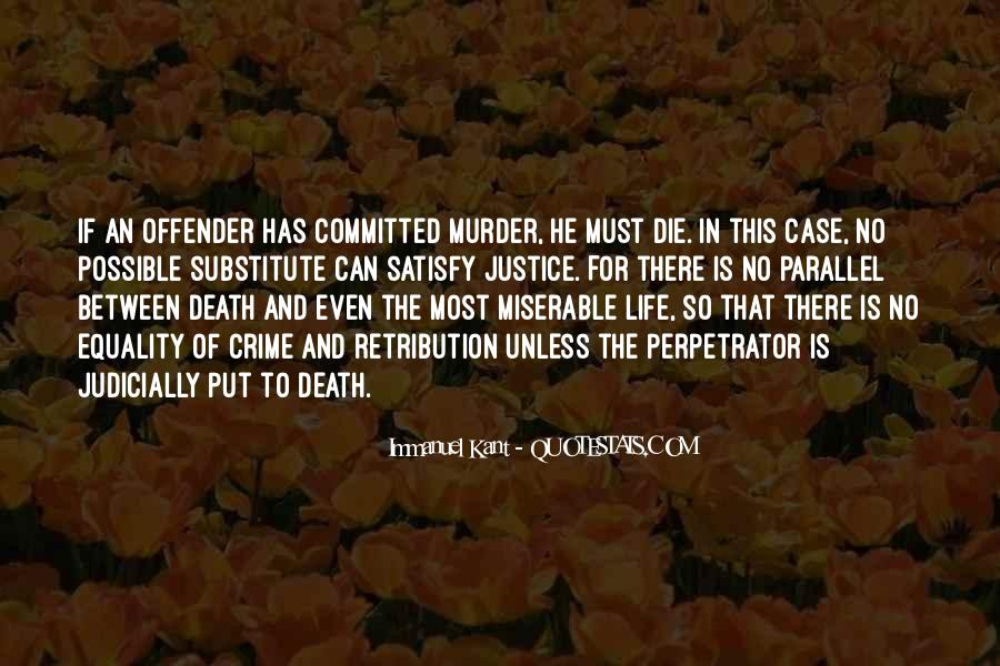Justice And Retribution Quotes #1038325