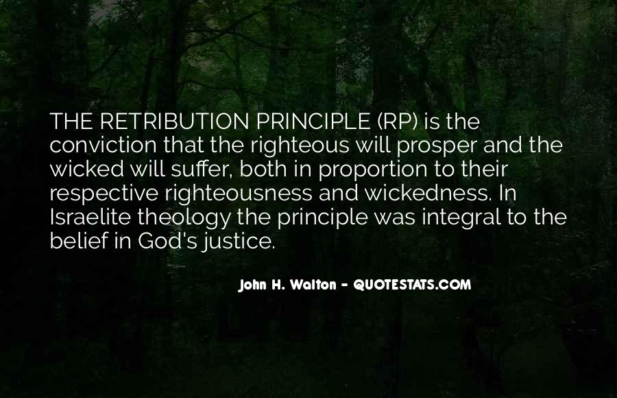 Justice And Retribution Quotes #1850341
