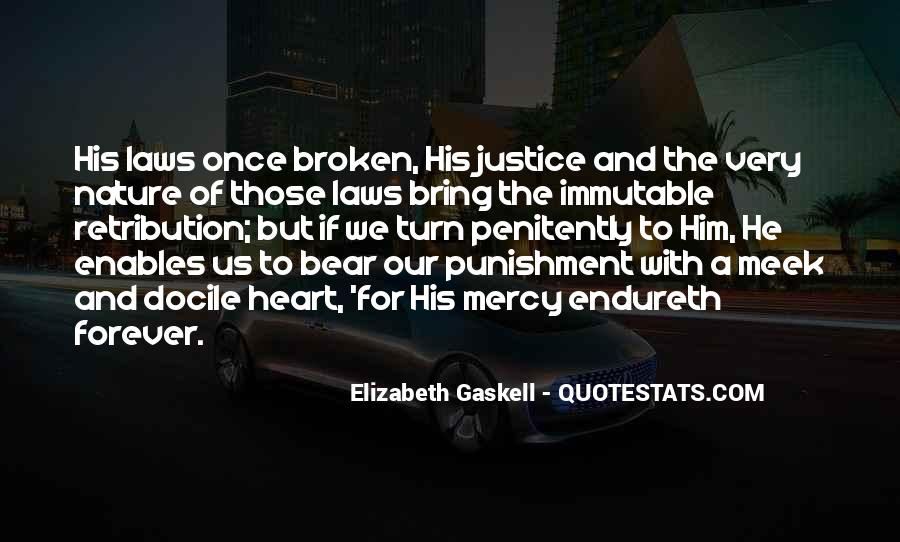 Justice And Retribution Quotes #80675