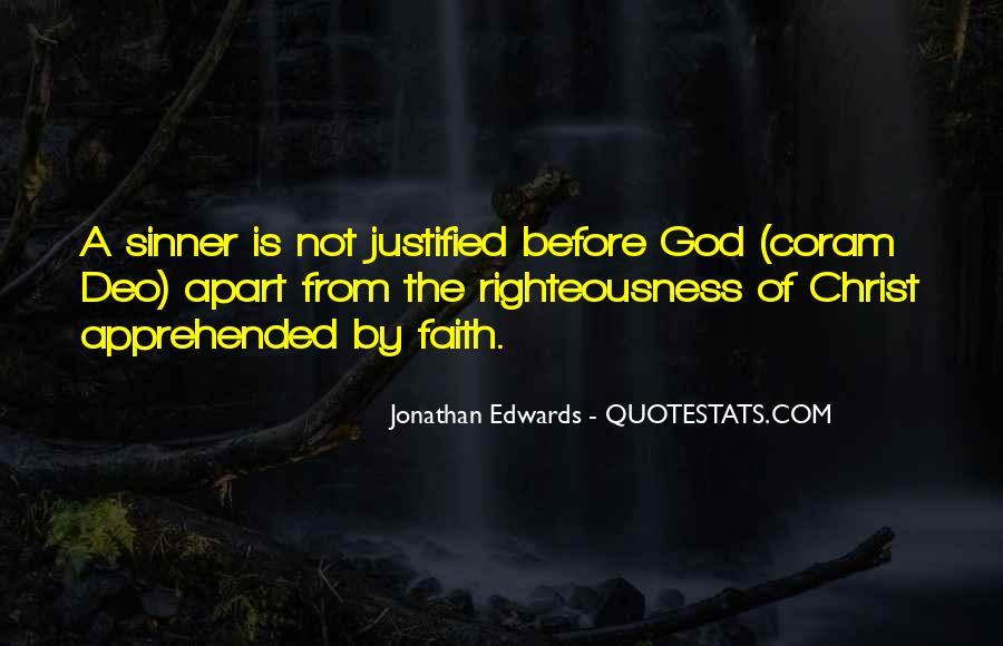 Justified Sinner Quotes #1313972