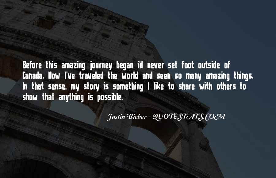 Justin Bieber No Sense Quotes #682323