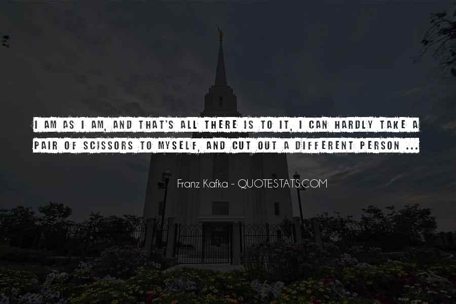 Kafka's Quotes #1055249