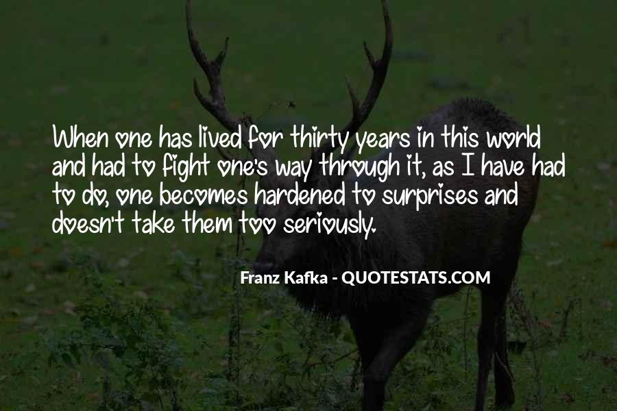Kafka's Quotes #1650975
