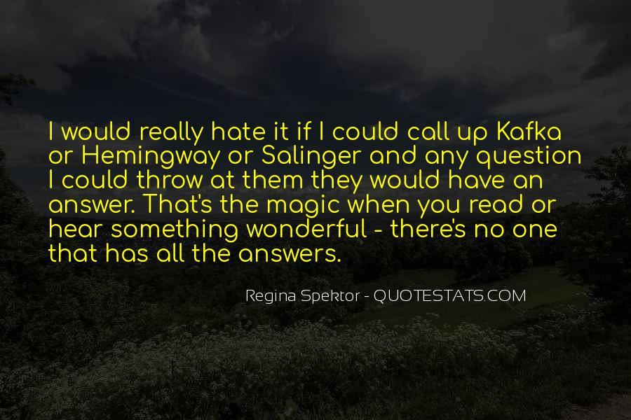 Kafka's Quotes #286810