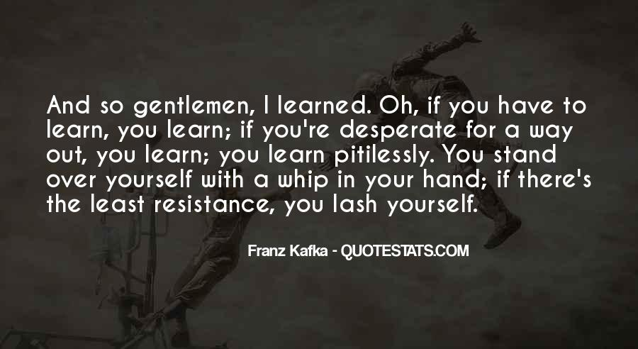 Kafka's Quotes #501501