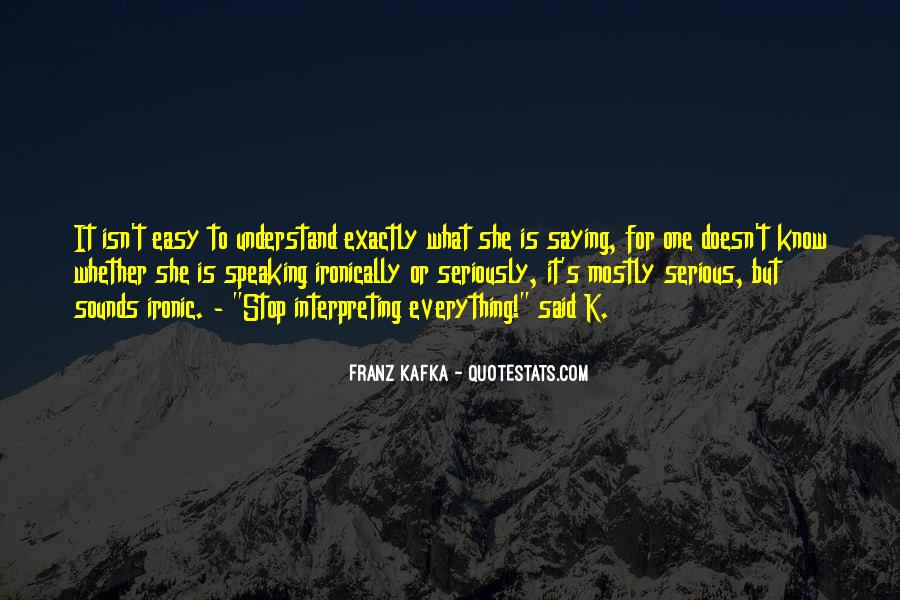 Kafka's Quotes #545680