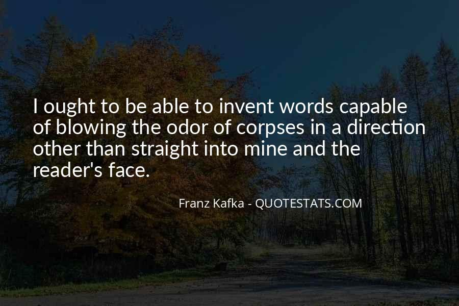 Kafka's Quotes #7935