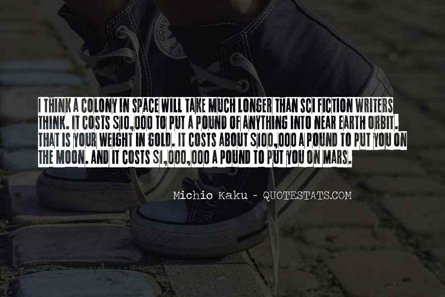Kaku Michio Quotes #331227
