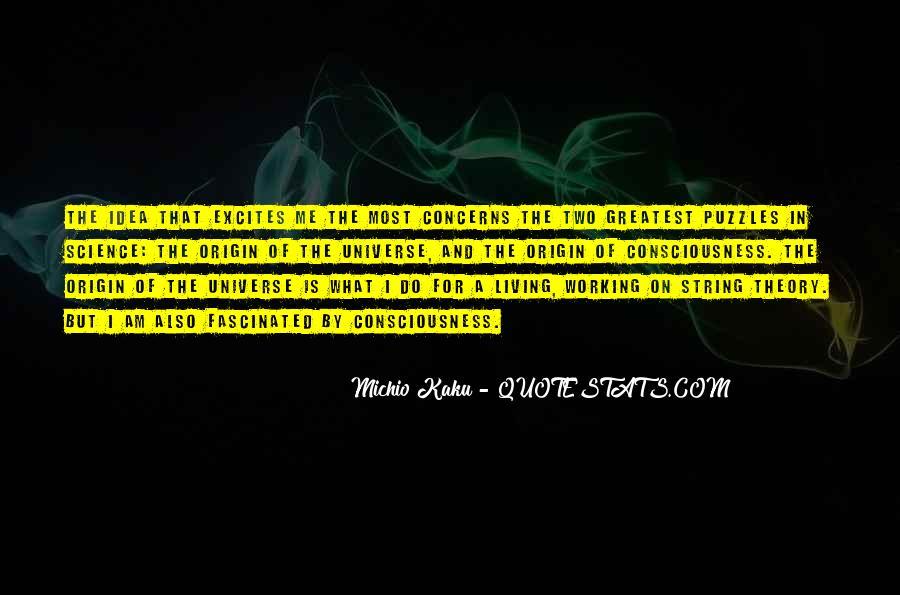 Kaku Michio Quotes #432114