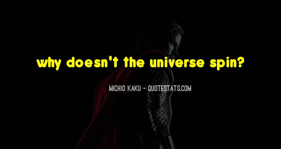 Kaku Michio Quotes #87286