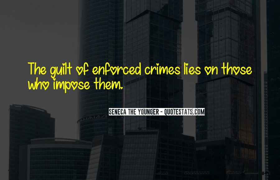 Quotes About Enforced #1006540