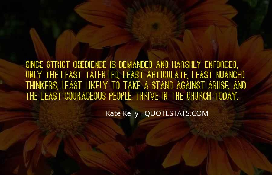Quotes About Enforced #503082