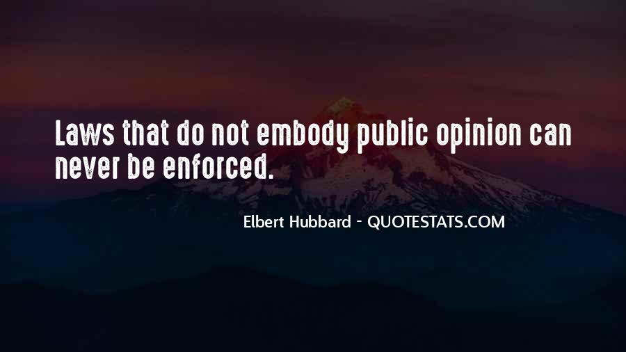 Quotes About Enforced #826711