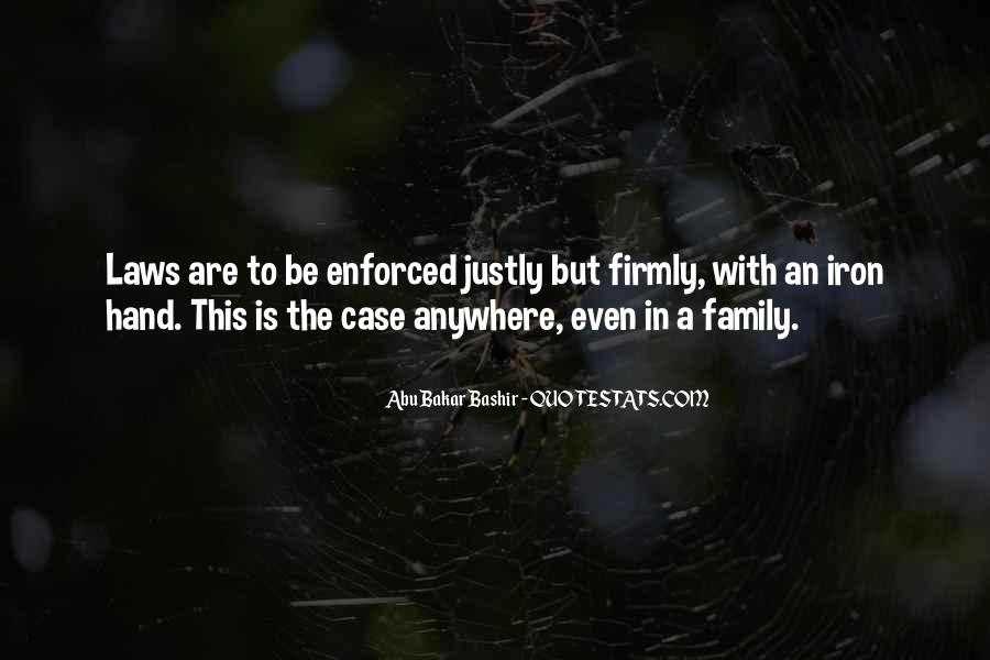 Quotes About Enforced #828835
