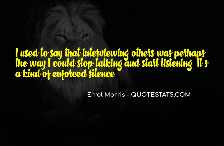 Quotes About Enforced #881412