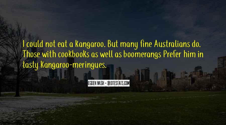 Kangaroo Quotes #59110