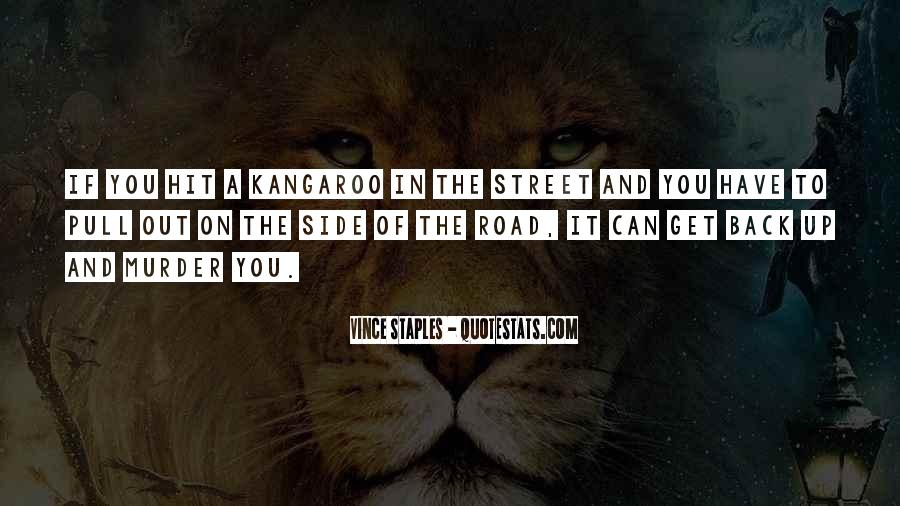 Kangaroo Quotes #606553