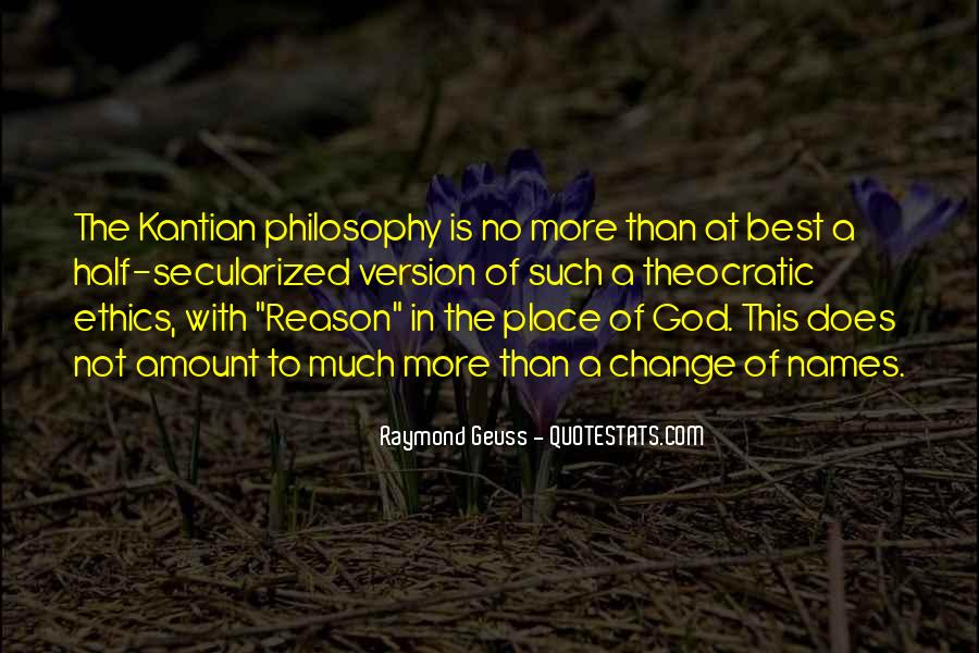 Kantian Quotes #1170313