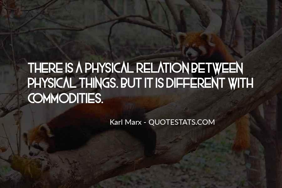 Karl Marx Commodity Quotes #110484