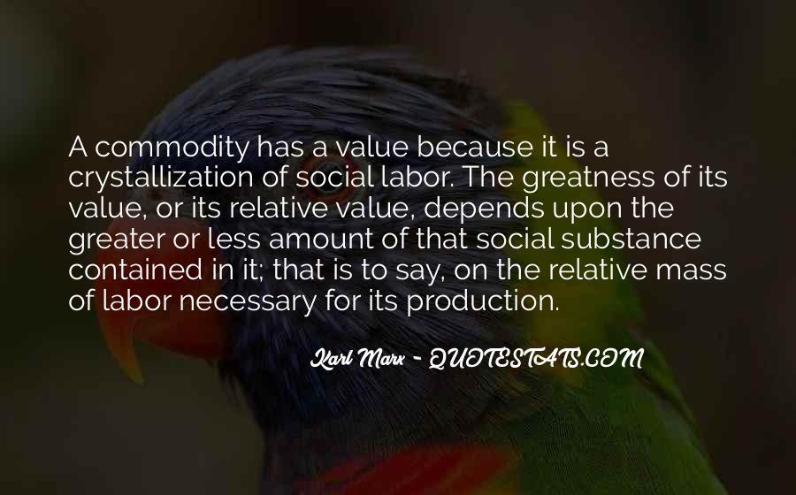 Karl Marx Commodity Quotes #1265542