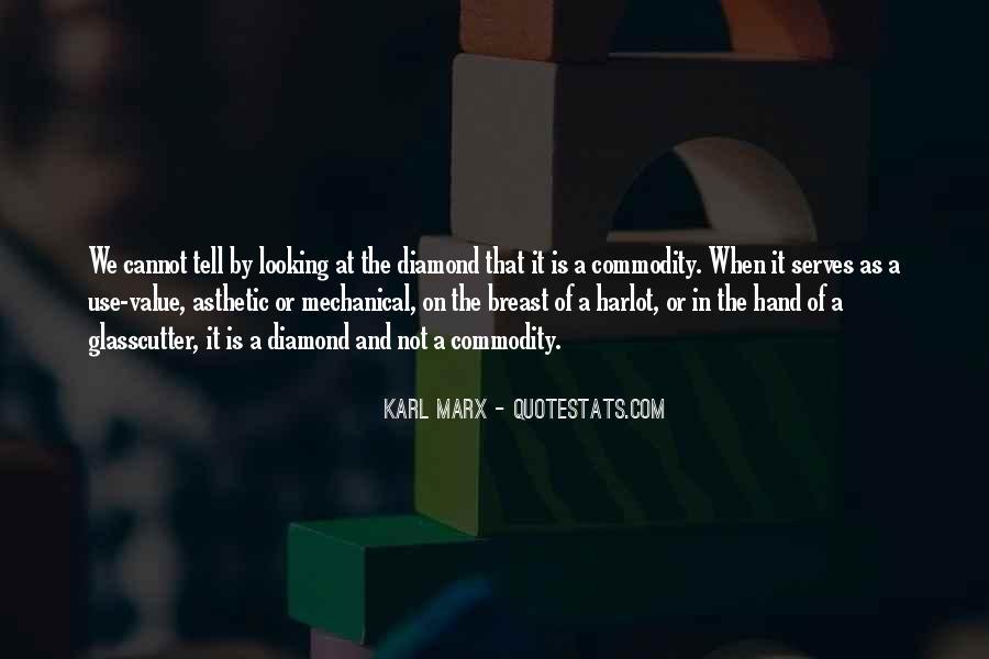 Karl Marx Commodity Quotes #1340220