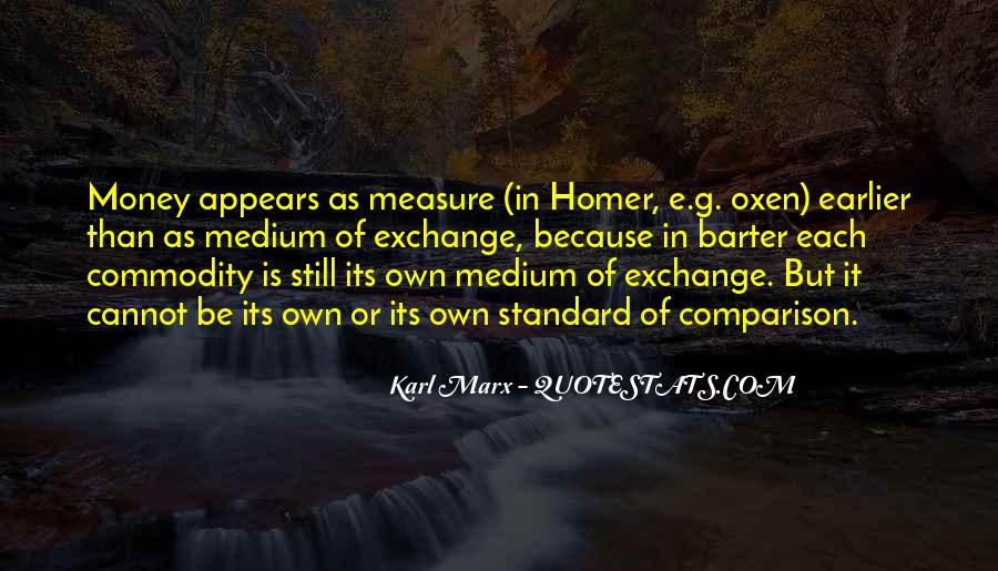 Karl Marx Commodity Quotes #1460049
