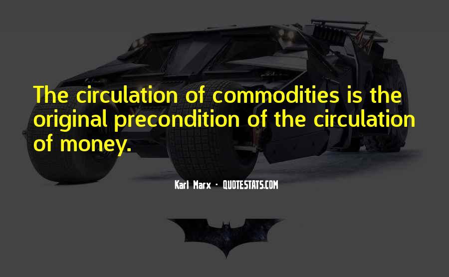Karl Marx Commodity Quotes #183461