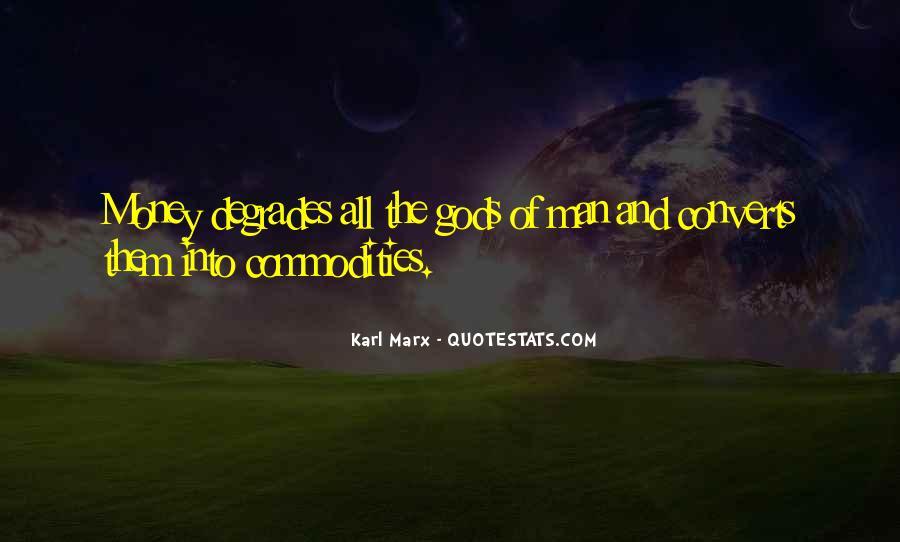 Karl Marx Commodity Quotes #691057
