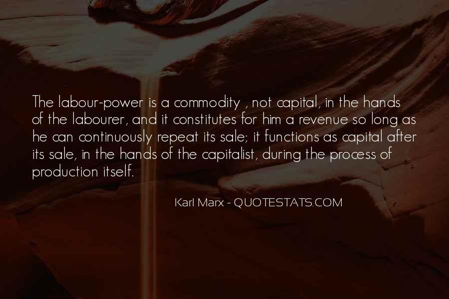 Karl Marx Commodity Quotes #879086