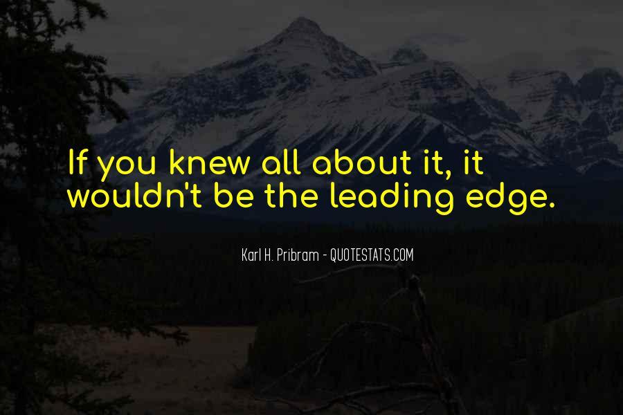 Karl Pribram Quotes #1346038