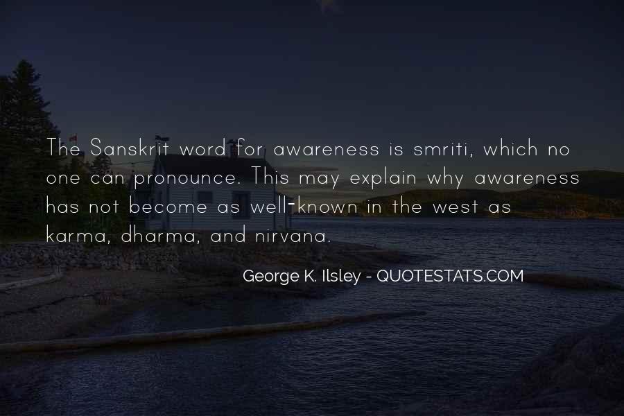 Karma And Dharma Quotes #355178