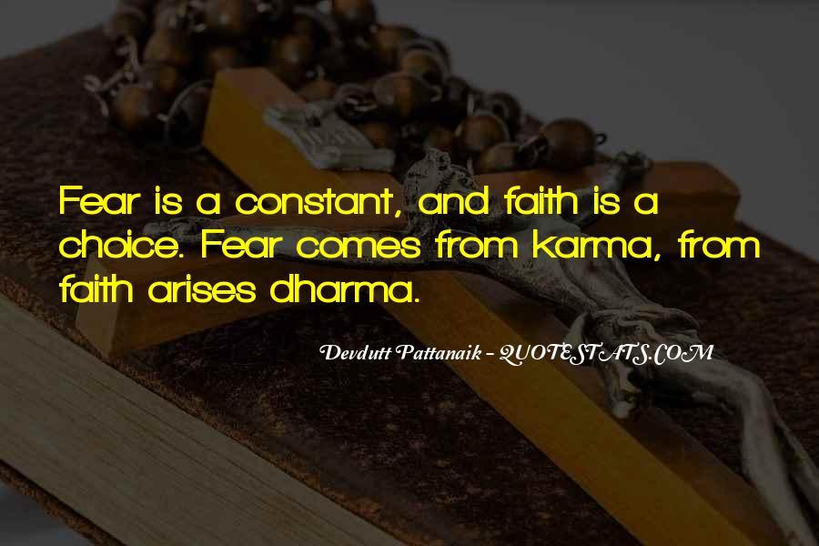 Karma And Dharma Quotes #610643