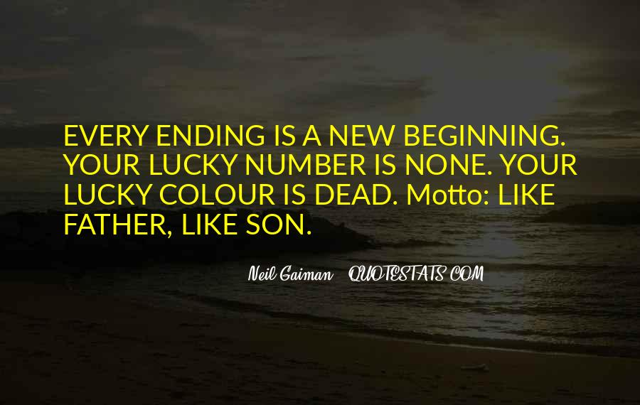 Quotes About Ending And New Beginnings #36505