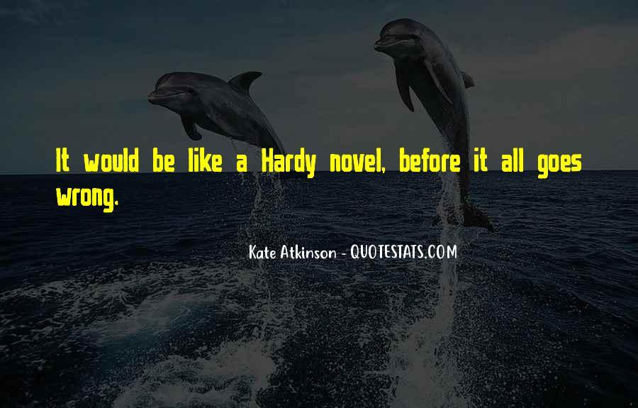 Kate Atkinson Case Histories Quotes #1041980