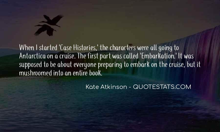 Kate Atkinson Case Histories Quotes #286183