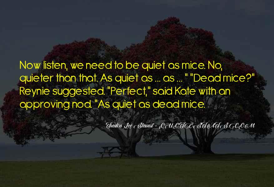 Kate Wetherall Quotes #958122