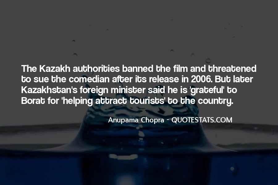 Kazakh Quotes #1238032