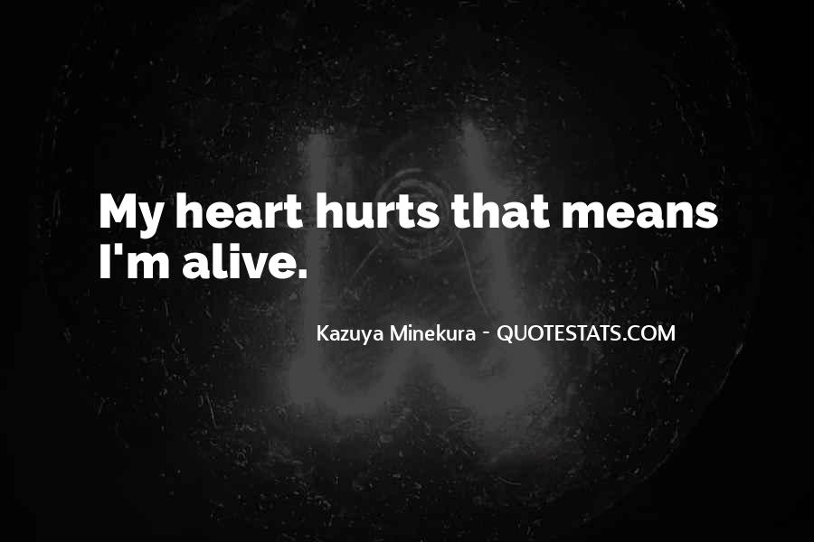 Kazuya Quotes #360518