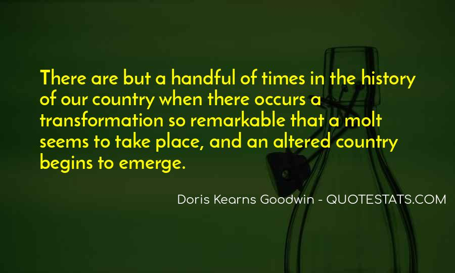 Kearns Goodwin Quotes #222109