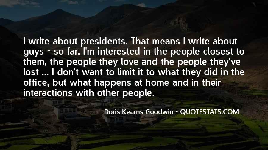Kearns Goodwin Quotes #73744