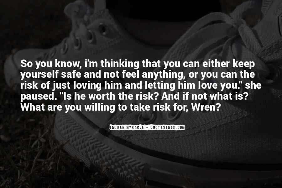 Keep Him Safe Quotes #1482537