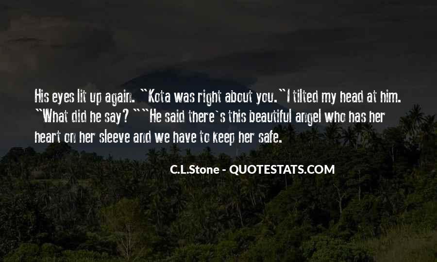 Keep Him Safe Quotes #1760051