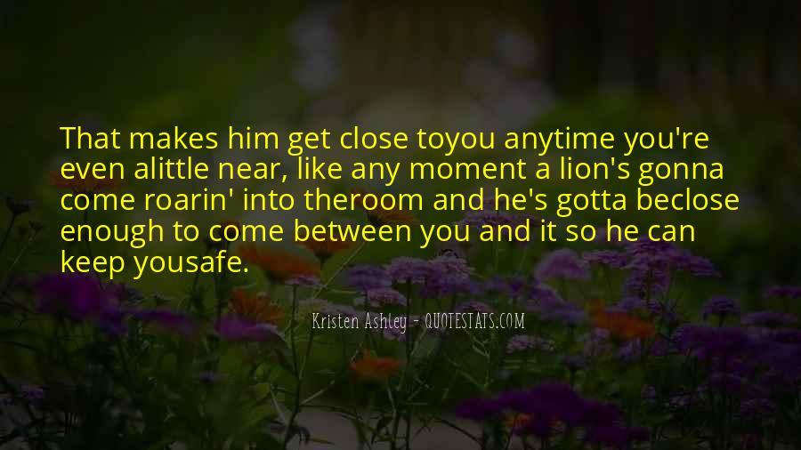 Keep Him Safe Quotes #889464