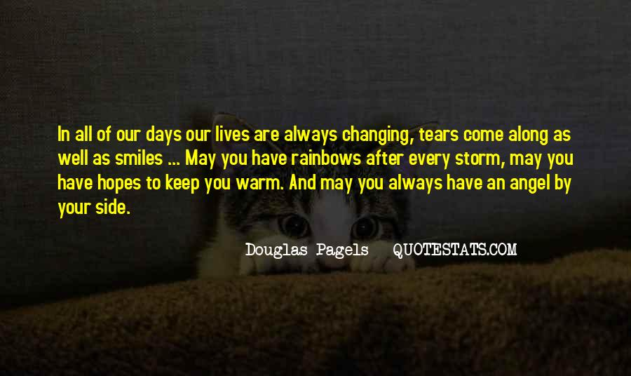 Keep Hopes Up Quotes #1185494