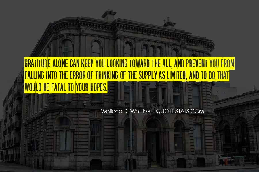 Keep Hopes Up Quotes #1787702