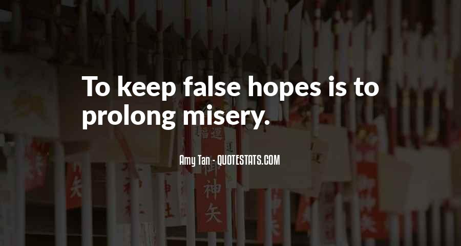 Keep Hopes Up Quotes #1878373