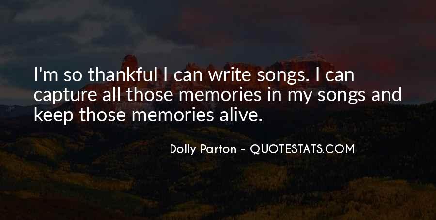 Keep Memories Alive Quotes #472596