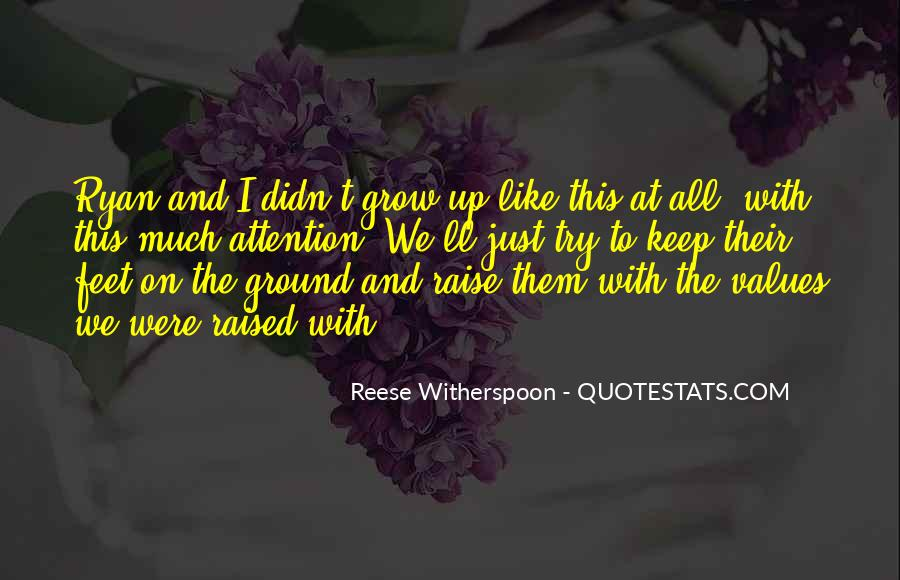 Keep My Feet On The Ground Quotes #134543