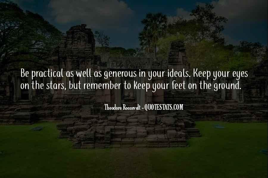Keep My Feet On The Ground Quotes #225376