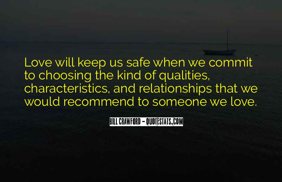 Keep My Love Safe Quotes #1691105